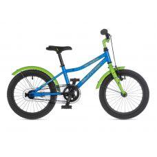 """Велосипед AUTHOR (2021) Orbit 16"""", рама 9"""", цвет-голубой // салатовый"""
