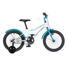 """Велосипед AUTHOR (2021) Stylo II 16"""", рама 9"""", цвет-белый // голубой"""