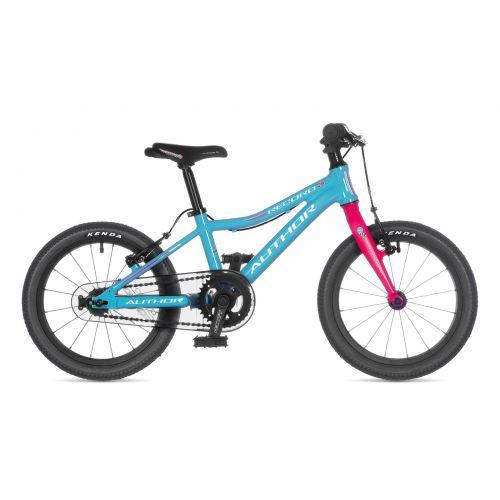 "Велосипед AUTHOR (2021) Record 16"", рама 9"", цвет-белый // серый"