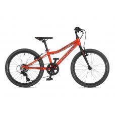"Велосипед AUTHOR (2021) Energy 20"", рама 10"", цвет-оранжевый // чёрный"