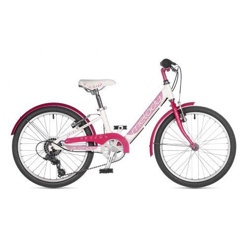 "Велосипед AUTHOR (2021) Melody 20"", рама 10"", цвет-белый // розовый"