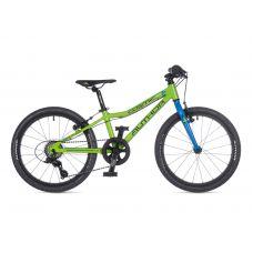 """Велосипед AUTHOR (2021) Cosmic 20"""", рама 10"""", цвет-салатовый // голубой"""