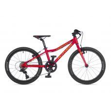 """Велосипед AUTHOR (2021) Cosmic 20"""", рама 10"""", цвет-красный"""
