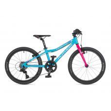 """Велосипед AUTHOR (2021) Cosmic 20"""", рама 10"""", цвет-голубой // розовый"""