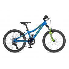 """Велосипед AUTHOR (2021) Smart 20"""", рама 10"""", цвет- голубой // салатовый"""
