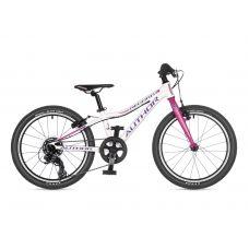"Велосипед AUTHOR (2021) Record 20"", рама 10"", цвет-белый // розовый"