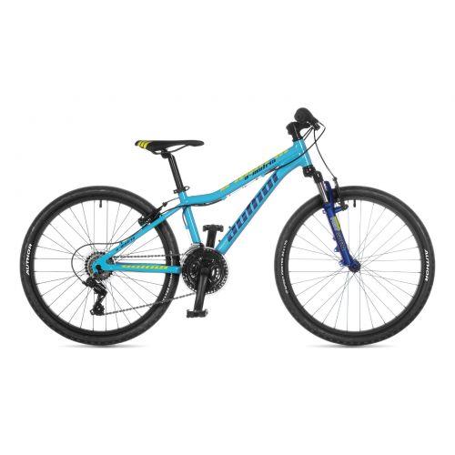 """Велосипед AUTHOR (2021) A-Matrix 24"""", рама 12,5"""", цвет-голубой // тёмно синий"""