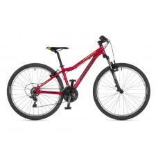 """Велосипед AUTHOR (2021) A-Matrix 26"""", рама 13,5"""", цвет-красный // чёрная"""