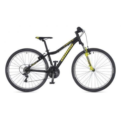 """Велосипед AUTHOR (2021) A-Matrix 26"""", рама 13,5"""", цвет-чёрный // салатовый"""