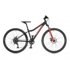 """Велосипед AUTHOR (2021) A-Matrix 26"""" D, рама 13,5"""", цвет-чёрный // неоново оранжевый"""