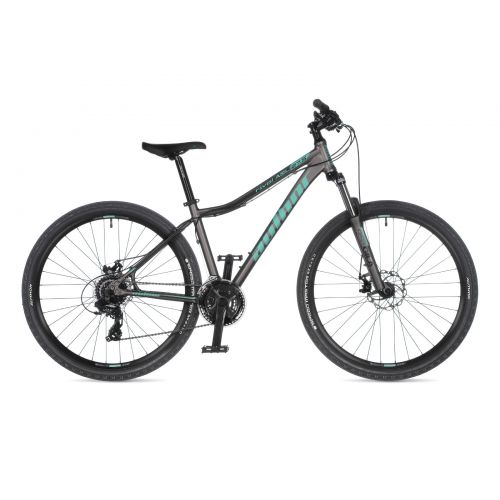 """Велосипед AUTHOR (2021) Rival ASL 27.5"""",  рама 18"""", цвет-серебристый (ментоловый) // серебристый"""