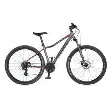 """Велосипед AUTHOR (2021) Impulse ASL 27.5"""", рама 18"""", цвет-серебристый (розовый) // серебристый"""