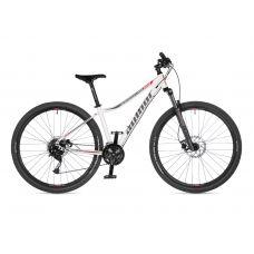 """Велосипед AUTHOR (2021) Solution ASL 29"""", рама 16"""", цвет-белый (красный) // серебристый"""