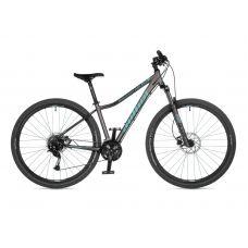 """Велосипед AUTHOR (2021) Solution ASL 29"""", рама 18"""", цвет-серебристый (ментоловый) // серебристый"""