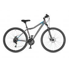 """Велосипед AUTHOR (2021) Vertigo ASL 29"""", рама 17"""", цвет-серебристый (голубой) // серебристый"""
