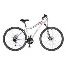 """Велосипед AUTHOR (2021) Vertigo ASL 29"""", рама 17"""", цвет-белый (розовый) // серебристый"""