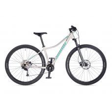 """Велосипед AUTHOR (2021) Spirit ASL 29"""", рама 18"""", цвет-белый (голубой-серебристый) // серебристый"""