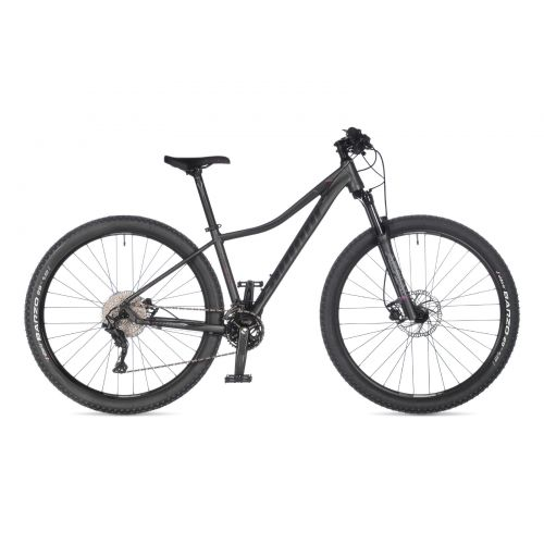 "Велосипед AUTHOR (2021) Traction ASL 29"", рама 18"", цвет-серый (чёрно-розовый) // серый"