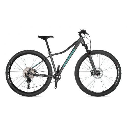 """Велосипед AUTHOR (2021) Context ASL 29"""", рама 16"""", цвет-серебристый (ментолово-чёрный) // серебристый"""