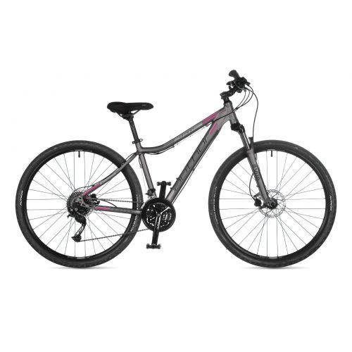 """Велосипед AUTHOR (2021) Grand ASL 29"""", рама 17"""", цвет--серебристый (розовый) // серебристый"""