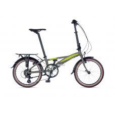 Велосипед AUTHOR (2021) Simplex рама M, цвет-серебристый