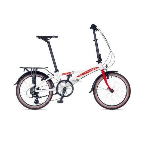 Велосипед AUTHOR (2021) Simplex рама M, цвет- белый // красныйеребристый