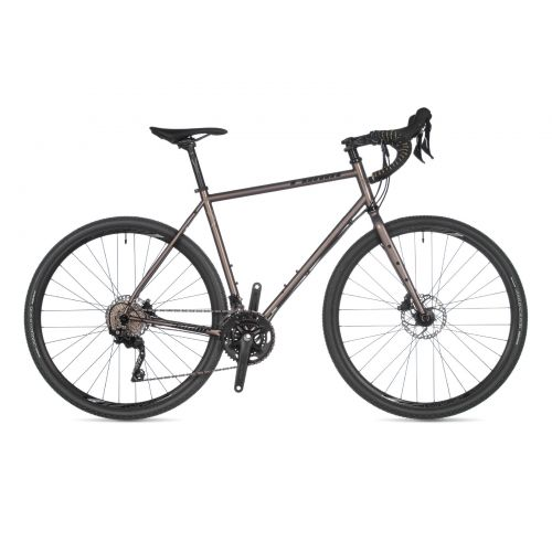 Велосипед AUTHOR (2021) Ronin, рама 52 см, цвет-античное серебро