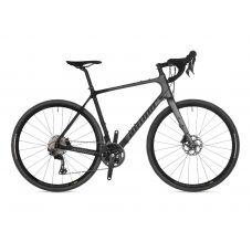 Велосипед AUTHOR (2021) Guru, рама 50 см, цвет-чёрно // серый