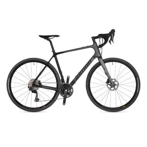 Велосипед AUTHOR (2021) Guru, рама 54 см, цвет-чёрно // серый