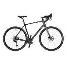 Велосипед AUTHOR (2021) Guru, рама 56 см, цвет-чёрно // серый