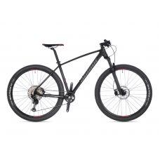 """Велосипед AUTHOR (2021) Vision 29"""", рама 17"""", цвет-чёрный (серебристый) // черный"""