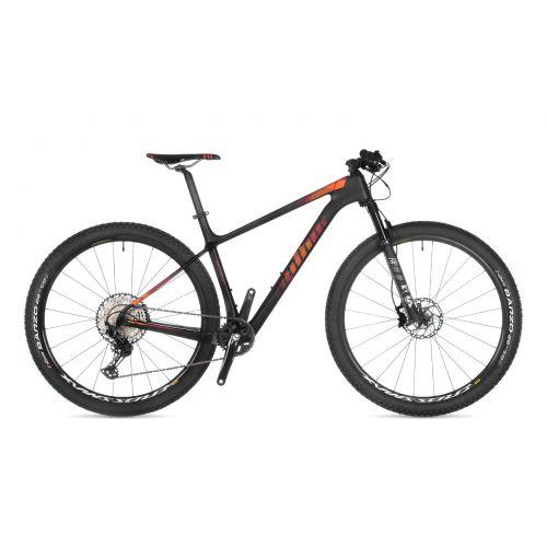 """Велосипед AUTHOR (2021) Sector 29"""", рама 19"""", цвет-карбон (красный) // черный"""