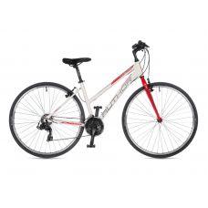 """Велосипед AUTHOR (2021) Thema 28"""", рама 17"""", цвет-белый // красный"""