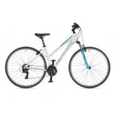 "Велосипед AUTHOR (2021) Linea 28"", рама 19"", цвет-белый // синий"