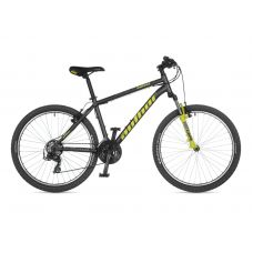 "Велосипед AUTHOR (2021) Outset 26"", рама 17"", цвет-серый // неоново желтый"