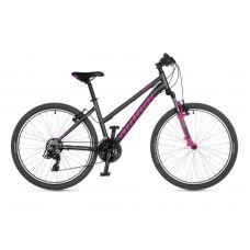 """Велосипед AUTHOR (2021) Unica 26"""",  рама 16"""", цвет-серый // розовый"""