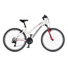 """Велосипед AUTHOR (2021) Unica 26"""", рама 18"""", цвет-белый // красный"""