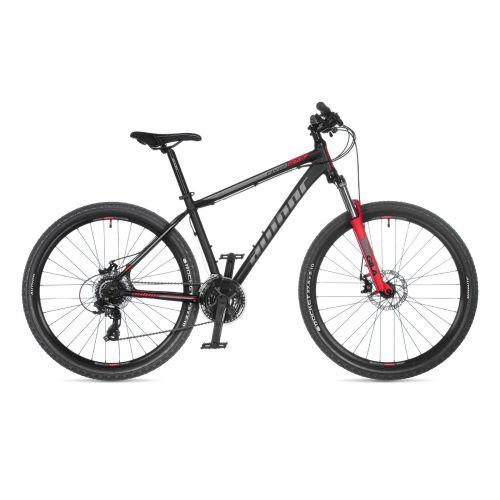 """Велосипед AUTHOR (2021) Rival 27.5"""", рама 15"""", цвет-чёрный // красный"""