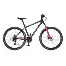 """Велосипед AUTHOR (2021) Rival 27.5"""", рама 17"""", цвет-чёрный // красный"""