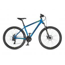"""Велосипед AUTHOR (2021) Rival 27.5"""", рама 17"""", цвет-синий // чёрный"""