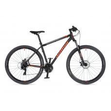 """Велосипед AUTHOR (2021) Rival 29"""", рама 19"""", цвет-чёрный (оранжевый) // черный"""