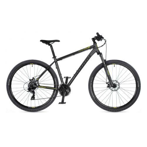 """Велосипед AUTHOR (2021) Rival 29"""", рама 17"""", цвет-серый (зелёный) // серый"""