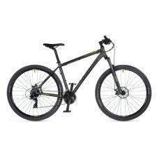 """Велосипед AUTHOR (2021) Rival 29"""", рама 21"""", цвет-серый (зелёный) // серый"""