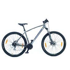 "Велосипед AUTHOR (2021) Rival II 29"", рама 21"", цвет-серебристый (желтый) // серебристый"
