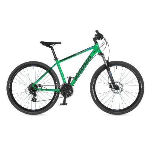 """Велосипед AUTHOR (2021) Impulse 27.5"""", рама 19"""", цвет-зелёный (синий) // черный"""