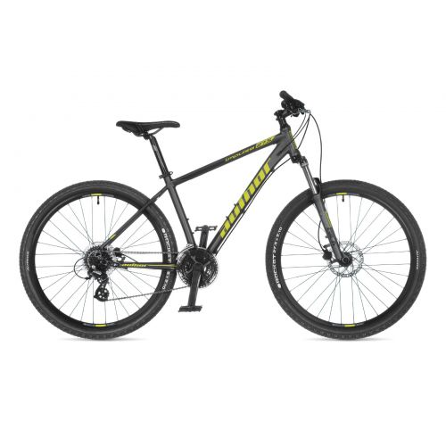 "Велосипед AUTHOR (2021) Impulse 27.5"", рама 17"", цвет-серый (лимонный) // серый"