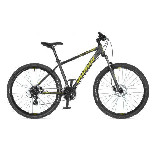 "Велосипед AUTHOR (2021) Impulse 27.5"", рама 19"", цвет-серый (лимонный) // серый"