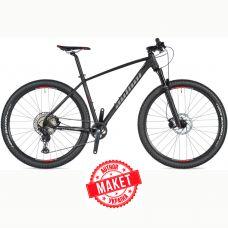 """Велосипед AUTHOR (2021) Impulse II 27.5"""", рама 15"""", цвет-черный (серебристый) // черный"""