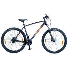 """Велосипед AUTHOR (2021) Impulse II 29"""", рама 17"""", цвет-черный (красный) // черный"""