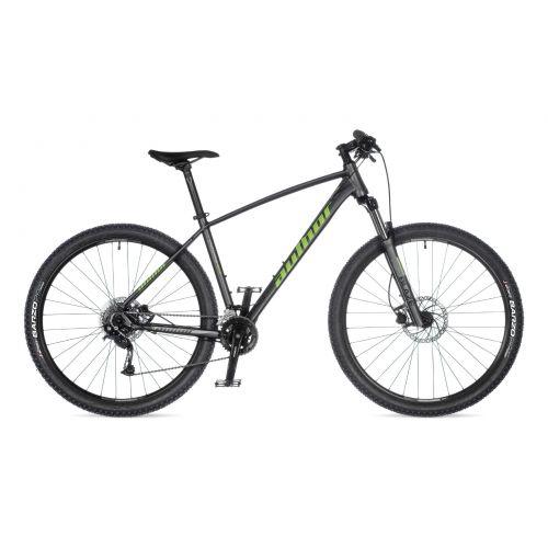 """Велосипед AUTHOR (2021) Pegas 29"""", рама 17"""", цвет-серебристый (неоново желтый) // серебристый"""